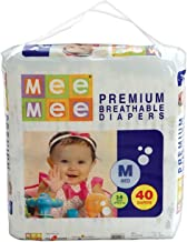 Mee Mee Premium Diapers, Medium, 40 Count