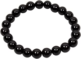 Petrichor Original Black Agate (Hakik) Stone Bracelet