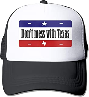 HOTSELL-Makemoney.forever Dont-Mess-Texas, Fashion Mesh Hat Adult Cap Unisex Summer Adjustable