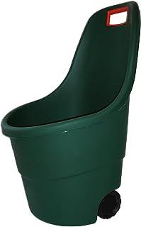 Keter -  Carro de jardín Easy Go 2, Capacidad 55 litros, Color verde