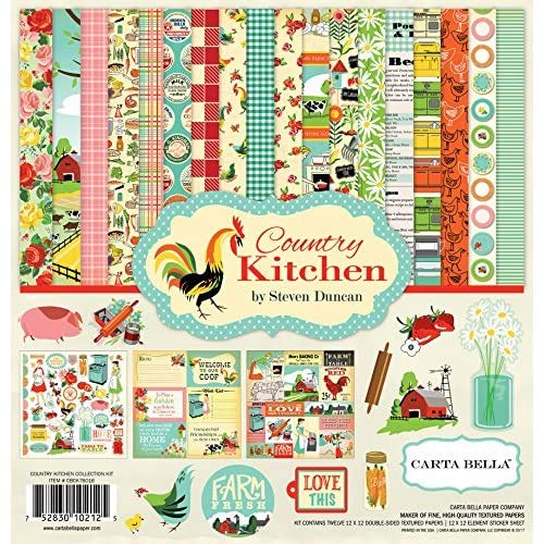 Carta Bella Paper Company Country Kitchen Collection Kit