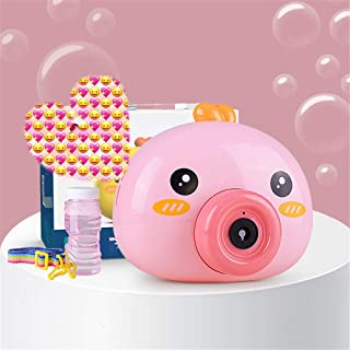 Xning Bubble Machine, Electric Cartoon Penguin Bubble Camera Is Suitable For Indoor And Outdoor Pool Parties, Picnics And ...