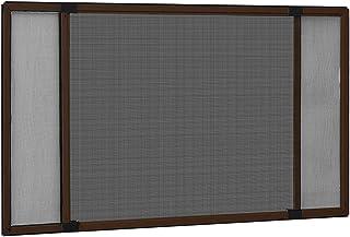 vidaXL Raamhor uitschuifbaar (75-143) x50 cm bruin