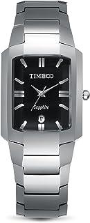 Time100 Men Fashion Casual Pattern Tungsten Steel Case Couple Digital-Quartz Movement Watch #W50109G