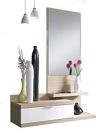 Armadio Ingresso Ikea.Amazon It Mobili Ingresso Con Appendiabiti Casa E Cucina