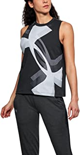 Under Armour Womens Muscle Tank Overlay Logo