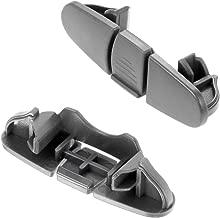 W10508950 Dishwasher Stop Track Fast For Whirlpool Dishwasher Stop Track Top Upper Rack Clip Washer Replacement Parts WPW10508950 8562015 W10199682 WPW10508950