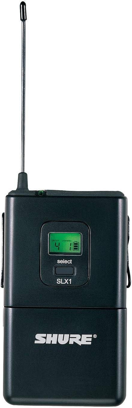 Shure SLX1 Bodypack Finally popular brand H5 Transmitter Limited Special Price