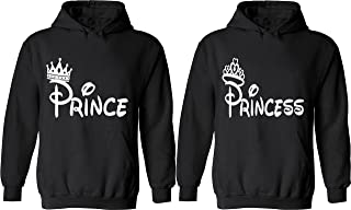 Best prince and princess matching hoodies Reviews