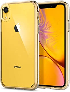 Spigen [Ultra Hybrid] iPhone XR Case 6.1 inch with Air Cushion Technology and Clear Hybrid Drop Protection for iPhone XR (2018) - Crystal Clear