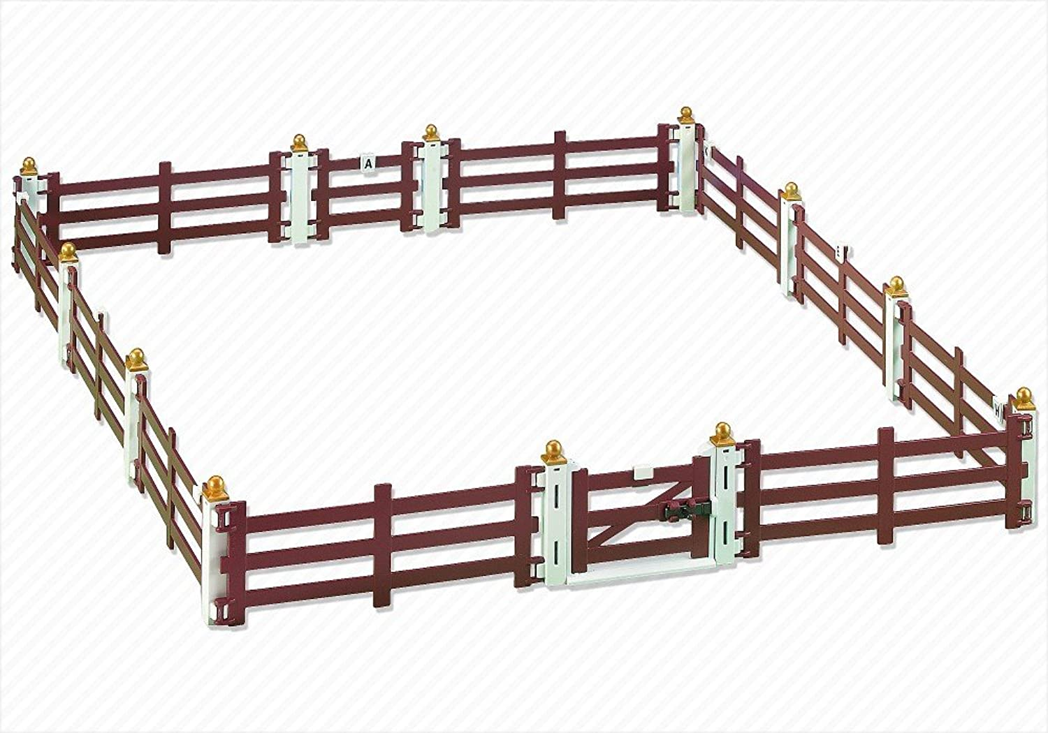 Fence Extension for Horse Farm with Paddock (5221)