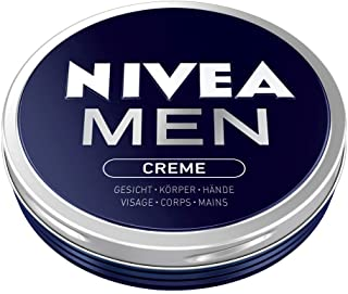 Nivea Men Krem w 1 opakowaniu (1 x 75 ml), krem do skóry do twarzy, ciała i rąk, pielęgnujący krem nawilżający o świeżym m...