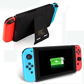 Mimd Nintendo Switch Battery Charger Case 10000mAh Extended Travel Charge Stand Portable Battery Backup Power Bank for Nintendo Switch 2018