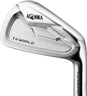 本間ゴルフ TW747Vx アイアン6本セット 番手#5-10 MODUS3 TOUR WORLDスチールシャフト メンズ 右