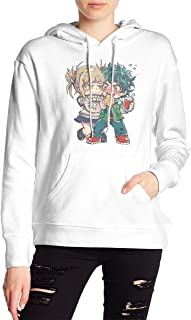 My Hero Academia Boku No Hero Himiko Toga Deku Hoodies Sweatshirt Adult Pullovers for Women
