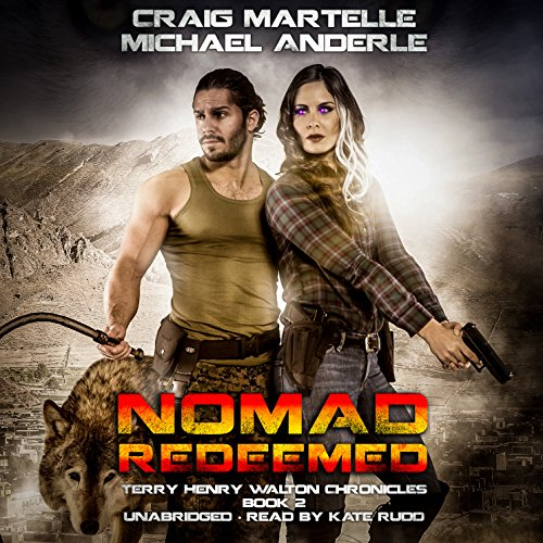 Nomad Redeemed audiobook cover art