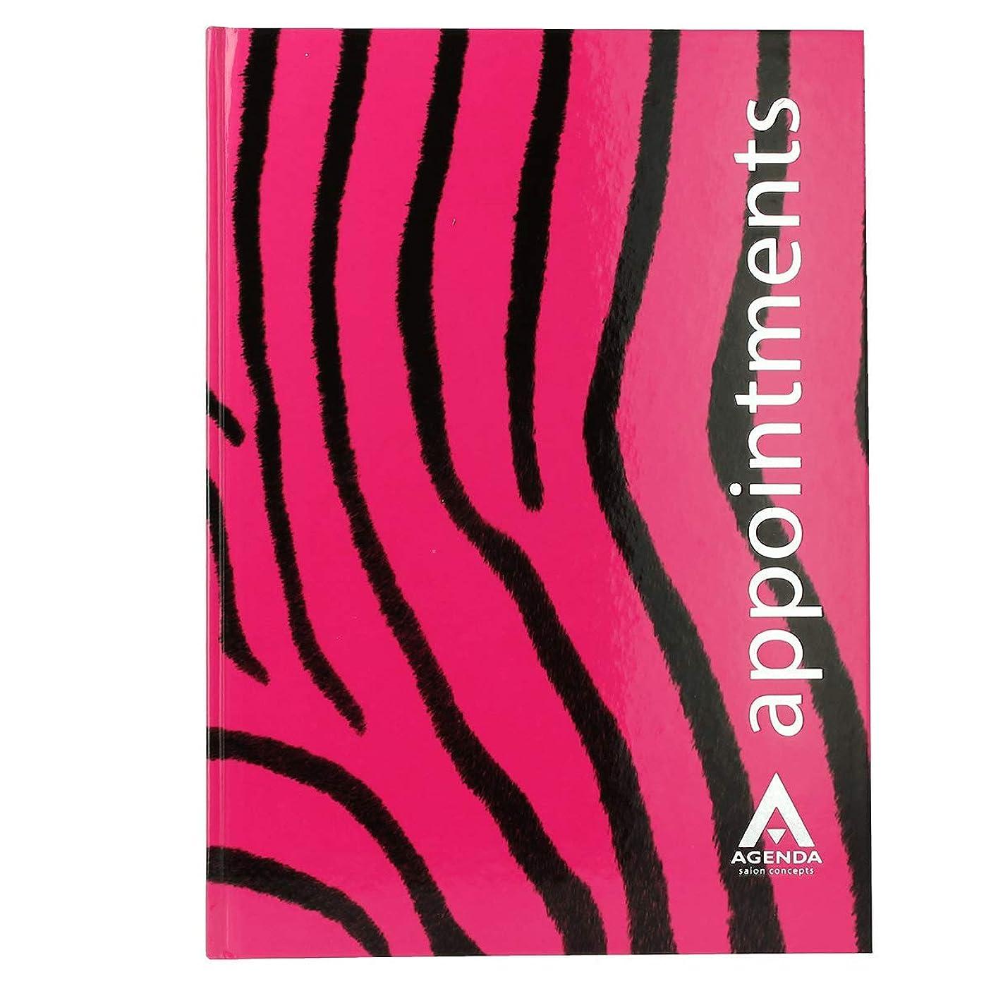 ウェイド劇作家経済アジェンダ サロンコンセプト 美容アポイントメントブック6アシスタントピンクゼブラ[海外直送品] [並行輸入品]