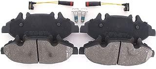 eje trasero para Multivan Transporter BB08216 Juego de pastillas de freno freno de disco