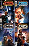 Star Wars - X-Wing - Rogue Squadron - The Phantom Affair #1-4 Complete Limited Series (Dark Horse Comics 1995 - 4 Comics)