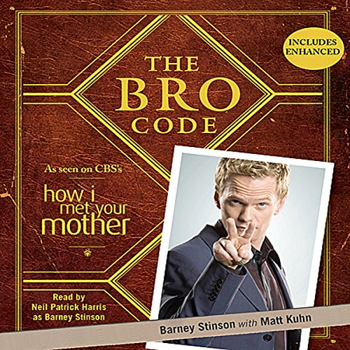 The Bro Code  audiobook cover art