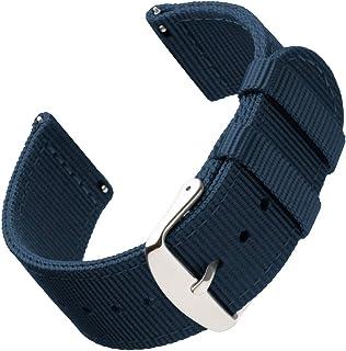 Archer Watch Straps | Bracelets de Remplacement en Nylon Facilement Interchangeables pour Montre Homme et Femme, Aussi pou...
