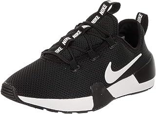 Nike Womens Ashin Modern Fabric Low Top Lace Up, Black/Summit White, Size 6.5