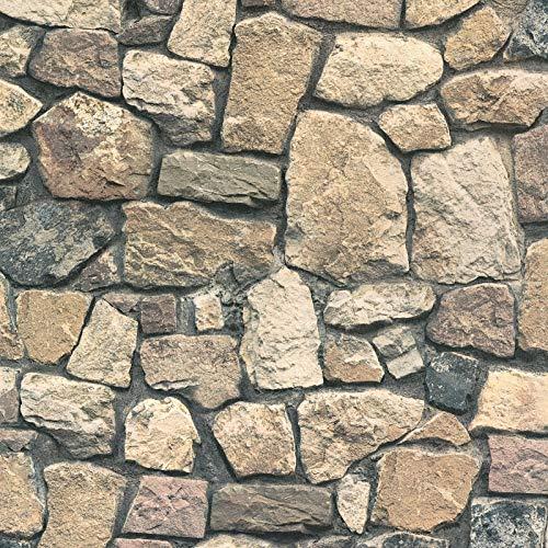 Vliestapete Steintapete Tapete Steinoptik Naturstein-Tapete 859532 85953-2 A.S. Création Dekora Natur 6 | Bunt | Rolle (10,05 x 0,53 m) = 5,33 m²