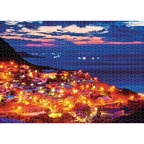 Vrouit Fantasy Puzzel voor volwassenen, 1000 stuks, mooi affiche, landschap, puzzel, met doos, samenwerking met familiepuzzel, mooi cadeau - tijd doden plezier, plezierig