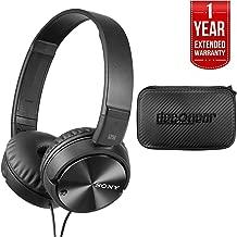 Sony Noise Cancelling Headphones, Deco Gear Hard Case & 1 Year Extended Warranty