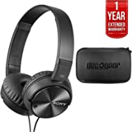 Sony Noise Cancelling Headphones, Deco Gear Hard Case & 1 Year Extended Warranty