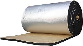 Hamaio Auto Dämmmatte, Selbstklebende Dämmschaummatte   10MM Aluminiumfolie Schalldämpfer Isolierung Dämmmatten Für Türen Dächer Fußböden Kofferräume