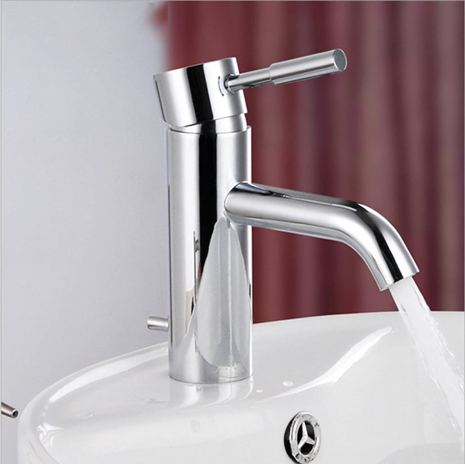 GZF Bathroom Sink Taps Faucet new faucet hot and cold water basin faucet copper casting mixing faucet washbasin faucet single-flush faucet