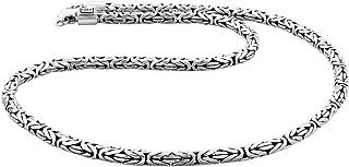 Kuzzoi, collana da uomo massiccia in argento Sterling 925, spessore 5,5mm, con cofanetto, 345053