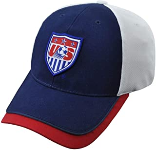 World Cup Soccer Team USA ADULT FASHION CAP / HAT Navy Blue/White