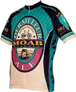 World Jerseys Moab Brewery Derailleur Ale Mens Cycling Jersey