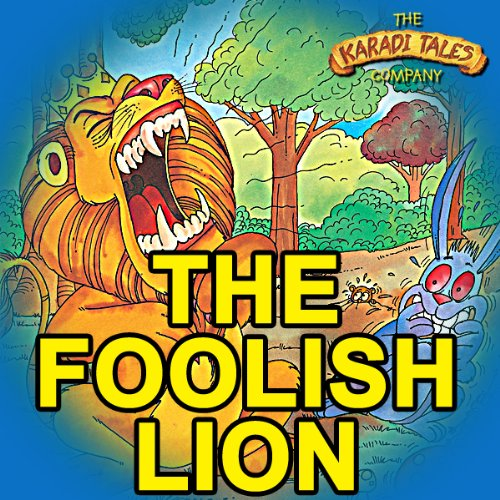 The Foolish Lion audiobook cover art