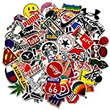 Jackify Pegatinas 100-PCS, Stickers Vinilo Graffiti Calcomanías Pegatina para Moto Infant...