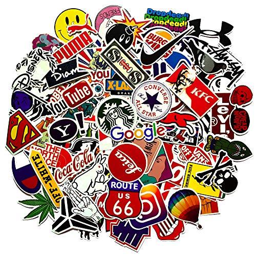 Jackify Pegatinas 100-PCS, Stickers Vinilo Graffiti Calcoman