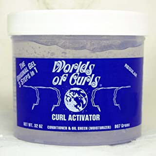 World of Curls Gel Activator - Regular 32 oz.