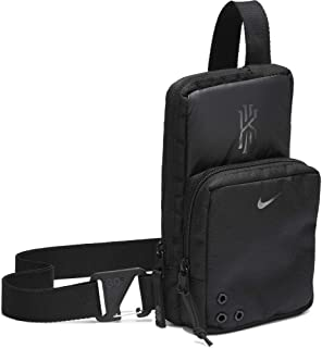 Nike Unisex-Adult Cross body Bag, Black/Dark Smoke Grey - NKBA6157-10