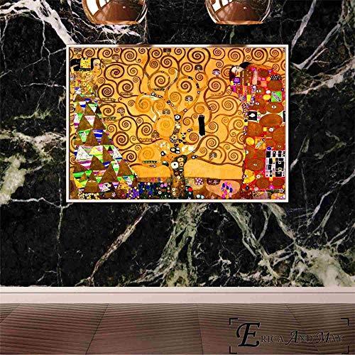N / A Gustav Klimt Abstrakte Leinwand Malerei Plakate und Drucke für Wohnzimmer Wandkunst Bild Wohnkultur zum Verkauf40x50cm