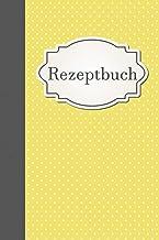Rezeptbuch: gepunktet, zum selber schreiben, 6x9, 50 doppelseitige Rezepte, weiße Seiten, Inhaltsverzeichnis mit Seitenzah...