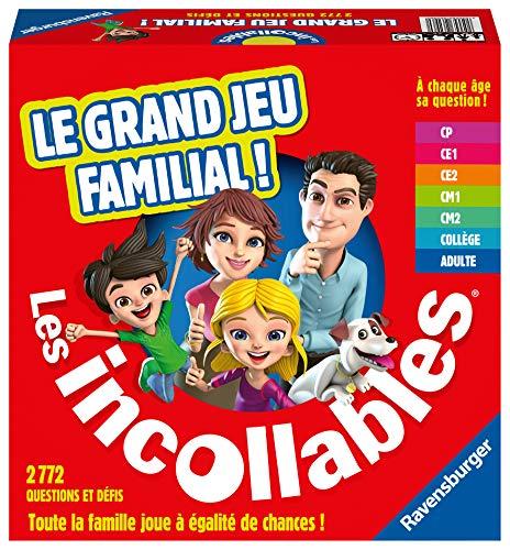 Ravensburger - Le Grand Jeu Familial des Incollables - Jeu de Quiz - Jeu de société Famille- 26296