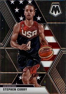 2019-20 Panini Mosaic #260 Stephen Curry USA Basketball NBA Basketball Trading Card
