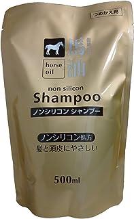 熊野油脂 馬油シャンプー 詰め替え用 500ml