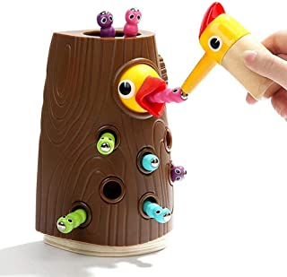 Mumoo Bear Magnetic Toddler Toy Game Set, Fine Motor Skill Preschool Toy, Pretend Play for Girl and Boy 2 Years Old