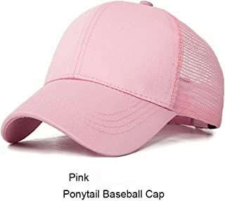 New Design Ponytail Caps for Women Camo Pattern Mesh Cap Summer Baseball Cap 24 with Tag
