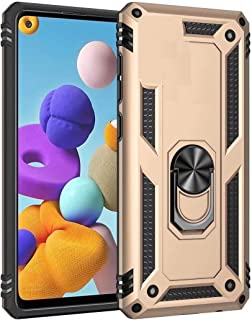 Minwu Case for RealmeNarzo10A, with Ring Holder Kickstand, Full Body Protective Silicone TPU Gel Personalised Shockproof...