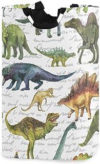 N\A Panier à Linge Animal Dinosaure Panier à Linge Dinosaure Boîte de Rangement Grand Rangement étanche Facile à Transport...