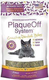 ProDen Plaque Off Crunchy Dental Bites for Cats 3 Ounces